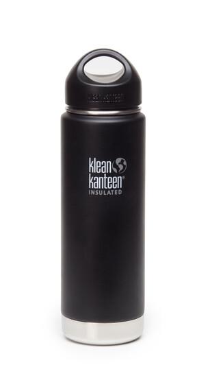 Klean Kanteen Wide Insulated - Gourde - avec bouchon attachable en acier inoxydable 592 ml noir